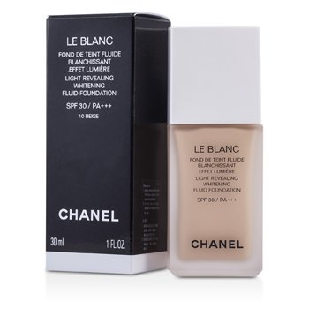 Chanel Le Blanc Light Revealing Whitening Fluid Base SPF 30 - # 10 Beige