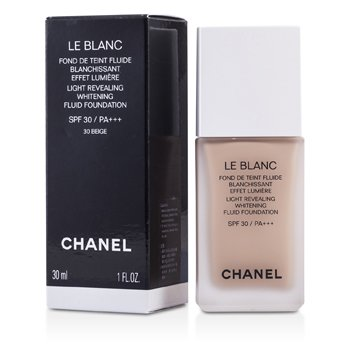 Chanel Le Blanc Light Revealing Whitening Fluid Base SPF 30 - # 30 Beige