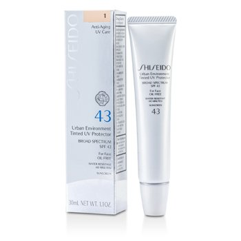 Shiseido Urban Environment Tinted UV Protetor SPF 43 - # Shade 1