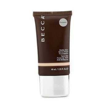 Matte Skin Shine Proof Foundation - # Porcelain