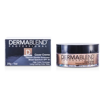 Dermablend Cover Creme Broad Spectrum SPF 30 (Cobertura Intensa) - Yellow Beige