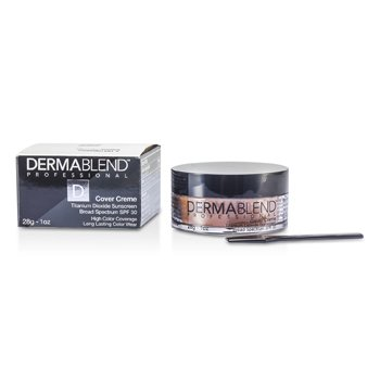 Dermablend Cover Creme Broad Spectrum SPF 30 (Cobertura Intensa) - Toasted Brown