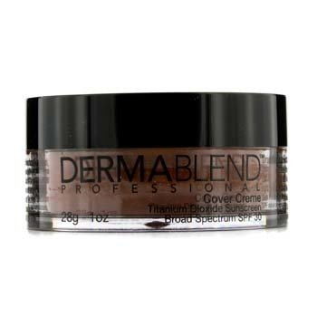 Dermablend Cover Creme Broad Spectrum SPF 30 (Cobertura Intensa) - Chocolate Brown