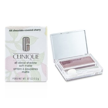 Clinique Sombra All About Shadow - # AX Chocolate Covered Cherry (Soft Matte)