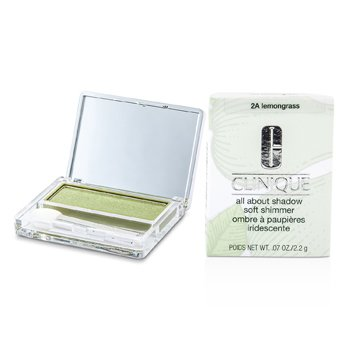 Clinique Sombra All About Shadow - # 2A Lemongrass (Brilho Macio)