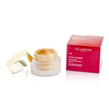 Clarins Base líquida - Extra Comfort Foundation SPF15 - # 114 Cappuccino