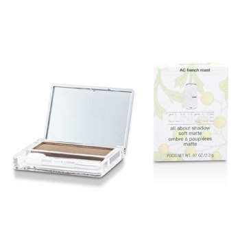 Clinique Sombra All About Shadow Soft Matte - # AC French Roast