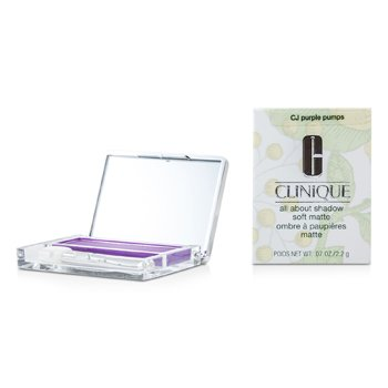 Clinique Sombra All About Shadow Soft Matte - # CJ Purple Pumps