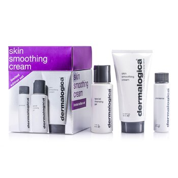Dermalogica Kit Skin Smoothing Cream Limited Edition: Creme Hidratante 100ml + Gel de Limpeza 50ml + Precleanse 30ml