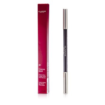 Clarins Lápis Delineador Long Lasting - # 02 Intense Brown