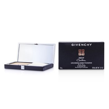 Givenchy Teint Couture Long Wear Compact Foundation & Highlighter SPF10 - # 4 Elegant Beige