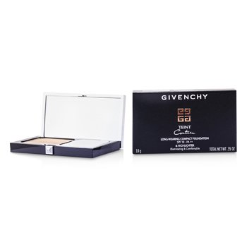 Givenchy Teint Couture Long Wear Compact Foundation & Highlighter SPF10 - # 5 Elegant Honey
