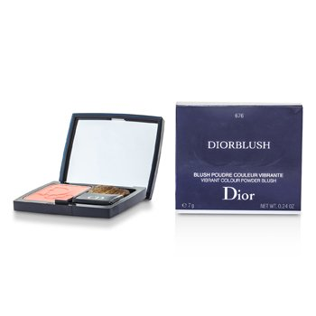 Christian Dior DiorBlush Vibrant Colour Powder Blush - # 676 Coral Cruise