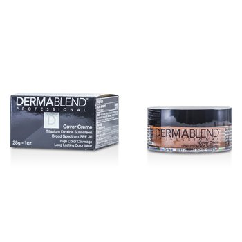 Dermablend Cover Creme Broad Spectrum SPF 30 (Cobertura Intensa) - Golden Brown