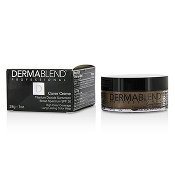 Dermablend Cover Creme Broad Spectrum SPF 30 (Cobertura Intensa) - Olive Brown