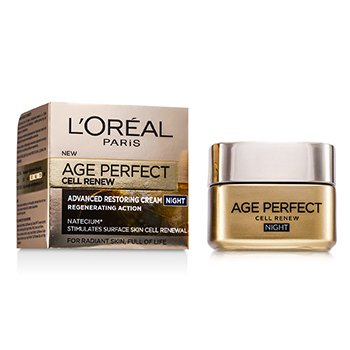 LOreal Creme Noturno Age Perfect Cell Renew Advanced Restoring
