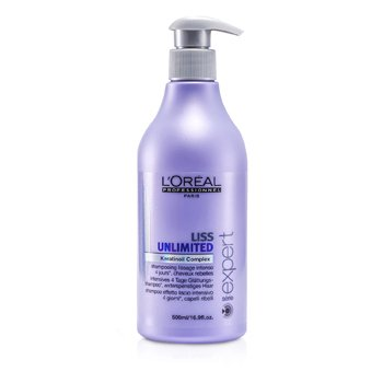 LOreal Shampoo Professionnel Expert Serie - Liss Unlimited Smoothing (Para Cabelo Rebelde)
