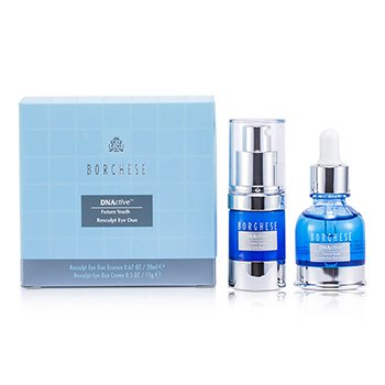 Borghese DNActive Future Youth Resculpt Eye Duo: Resculpt Eye Duo Essence 20ml + Resculpt Eye Duo Creme 15g