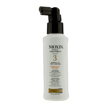 Nioxin System 3 Scalp Treatment For Fine Hair, Chemically Treated, Normal to Thin-Looking Hair (Unboxed)
