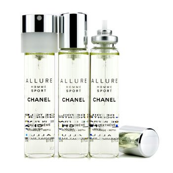 Chanel Allure Homme Sport Eau Extreme Travel Spray Refills (3 Refil)