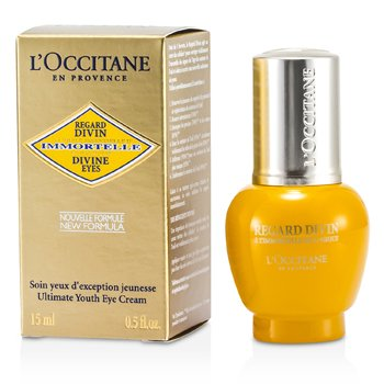 LOccitane Creme Para Olhos Immortelle Divine Eyes Ultimate Youth