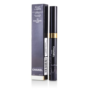 Chanel Caneta pincel corretiva Caneta c/ corretivoEclat Lumiere Highlighter Face Pen  - # 10 Beige Tendre