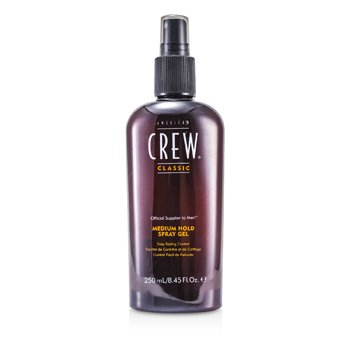 American Crew Gel Spray Men Medium Hold (Modelagem Rápida)