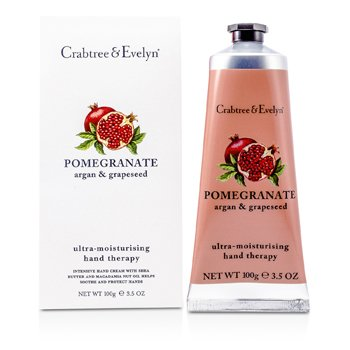 Crabtree & Evelyn Creme Para Mãos Pomegranate, Argan & Grapeseed
