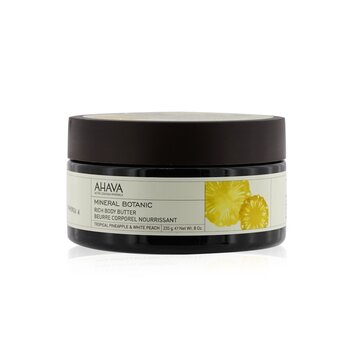 Ahava Mineral Botanic Velvet Body Butter - Tropical Pineapple & White Peach