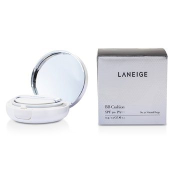 Laneige BB Cushion Base SPF 50 Com Refil Extra - # No. 21 Natural Beige