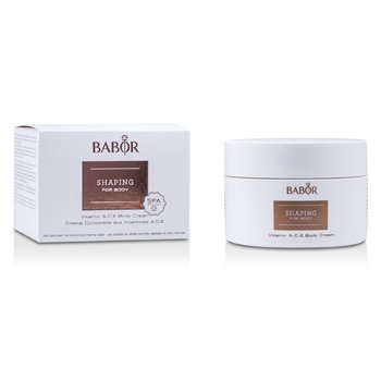 Babor Shaping For Body - Creme Para Corpo Com Vitamins A.C.E.
