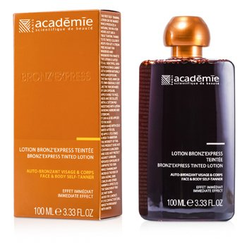 Académie Autobronzeador Bronz Express Face and Body Tinted