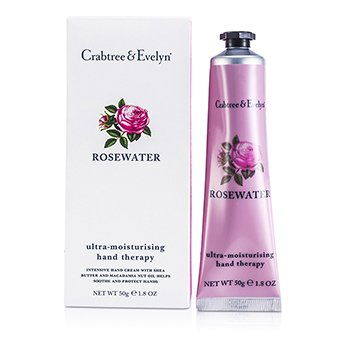 Crabtree & Evelyn Creme Hidratante Para Mãos Rosewater Therapy