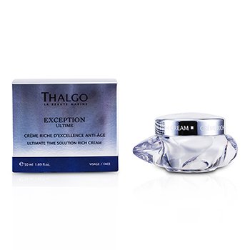 Thalgo Creme Exception Ultime Ultimate Time Solution Rich