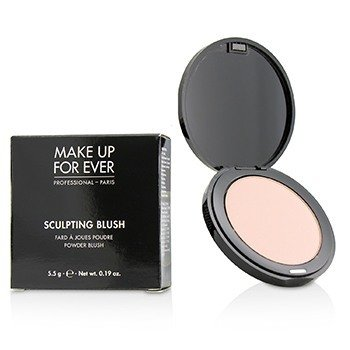Make Up For Ever Pó blush Sculpting Blush Powder Blush - #10 (Satin Peach Pink)