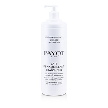 Payot Lait Demaquillant Fraicheur Silky-Smooth Cleansing Milk - P/ Todos os Tipos de Pele (Tamanho Profissional)