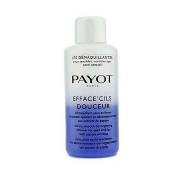 Payot Removedor de Maquiagem Efface Cils Douceur Instant Smooth Decongesting Cleanser For Eyes & Lips (Tamanho Profissional)