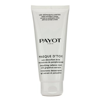 Payot Les Demaquillantes Masque DTox Detoxifying Radiance Mask - Para Pele Normal e Mista (Tamanho profissional)