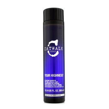 Tigi Shampoo Catwalk Your Highness Elevating - Cabelo Fino Sem Vida (Nova Emabalagem)