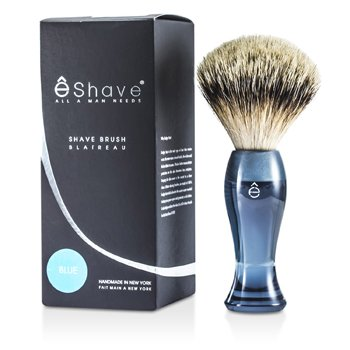 EShave Píncel Para Barbear Finest Badger Long - Blue