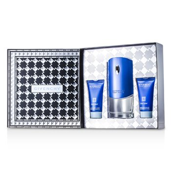 Givenchy Kit Blue Label: Eau De Toilette Spray 100ml + Sabonete Liquido 50ml + Loção Pós Barba 50ml