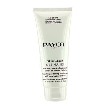 Payot Creme Para Mãos Le Corps Douceur Des Mains Nourishing With Shea Butter Extract  (Tamanho Profissional)