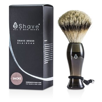 EShave Píncel Para Barbear Finest Badger Long - Smoke