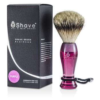 EShave Píncel Para Barbear Finest Badger Long - Purple