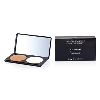 Make Up For Ever Kit Sculpting - # 2 (Neutral Light)
