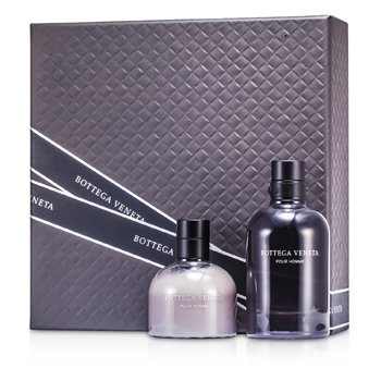 Bottega Veneta Kit Pour Homme: Eau De Toilette Spray 90ml + Bálsamo Pós Barba 100ml