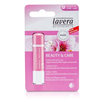 Lavera Bálsamo Labial - Beauty & Care Rose