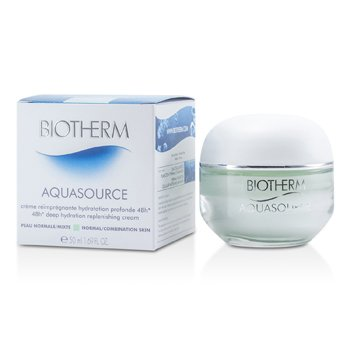Biotherm Creme Aquasource 48H Deep Hydration Replenishing (Pele Normal á Mista)