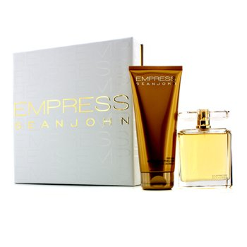 Sean John Kit Empress: Eau De Parfum Spray 100ml + Loção Corporal 200ml