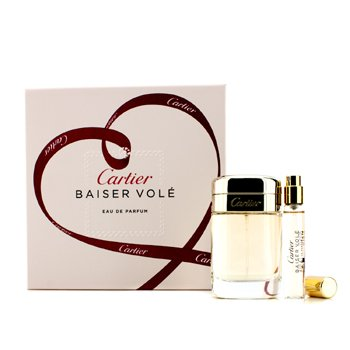 Cartier Kit Baiser Vole: Eau De Parfum Spray 50ml + Eau De Parfum Spray 9ml